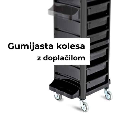 AGV Y-CON ČRN VOZIČEK koleščka